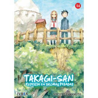 Takagi-san Experta En Bromas Pesadas #14 Manga Oficial Ivrea