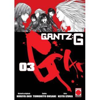 Gantz:G #03 Manga Oficial Panini Manga (spanish)