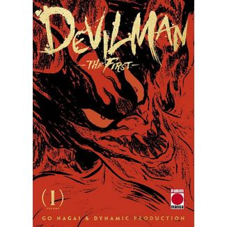 Devilman: The First #01 Manga Oficial Panini Manga (spanish)