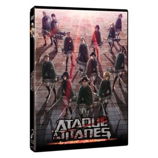Attack On Titan DVD Película: El Rugido del Despertar