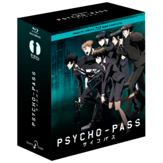 Complete Serie Psycho Pass Bluray