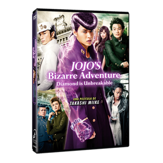 JoJo's Bizarre Adventure Diamond Is Unbreakable DVD Movie