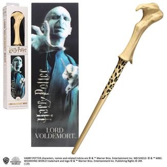 Lord Voldemort Magic Wand and 3D Bookmark Harry Potter